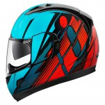 Casque intégral ICON Alliance GT Primary Bleu/Rouge
