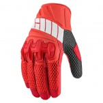 Gants moto Icon Overlord Mesh Rouge