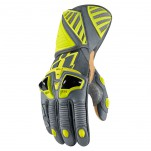Gants moto Icon Hypersport Pro Long Hiviz