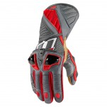Gants moto Icon Hypersport Pro Long Rouge