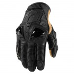 Gants moto Icon Hypersport Pro Short Noir