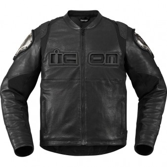blouson moto cuir homme icon timax tech2roo. Black Bedroom Furniture Sets. Home Design Ideas