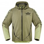Blouson moto ICON Raiden UX Waterproof Battlescar
