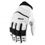 Gants moto Icon Superduty 2 Blanc