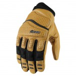 Gants moto Icon Superduty 2 Marron