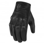Gants moto Femme Icon Pursuit Touchscreen Perforés