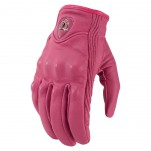Gants moto Femme Icon Pursuit Rose
