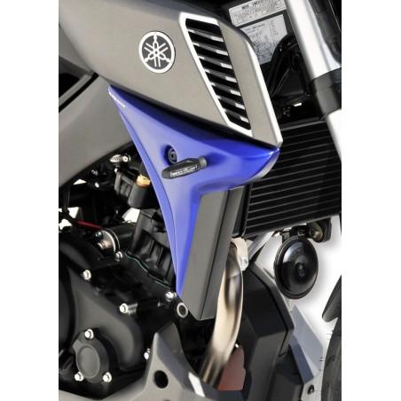 Écopes de radiateur Ermax pour Yamaha MT125 2014 et +