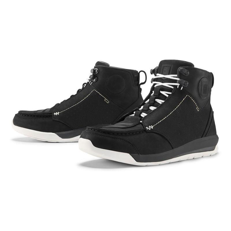 chaussures moto homme icon truant 2 noir tech2roo. Black Bedroom Furniture Sets. Home Design Ideas