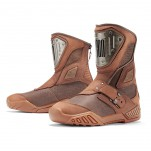Bottes moto Homme ICON Retrograde Marron