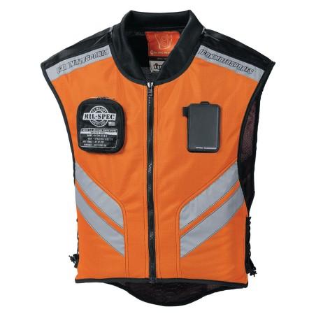 Veste moto ICON Mil-Spec Mesh Instructor Orange