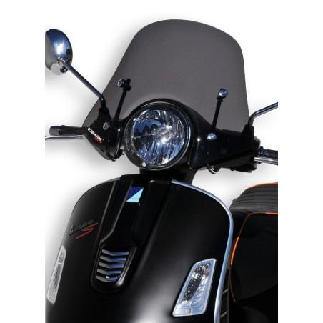 Pare-Brise scooter Ermax Mini sportivo 40cm pour Vespa 125 et 300 GTS 2008 et +