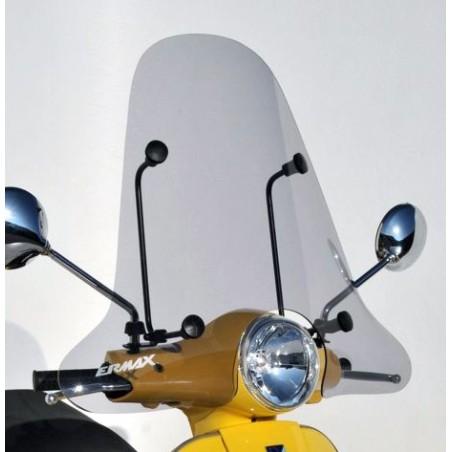 Pare-Brise scooter Classico Ermax 65cm pour Vespa LX50 et LX125 2009 et +