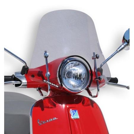 Pare-Brise scooter Ermax Sportivo 45cm pour Vespa 50 et 125 Primavera 2014 et +