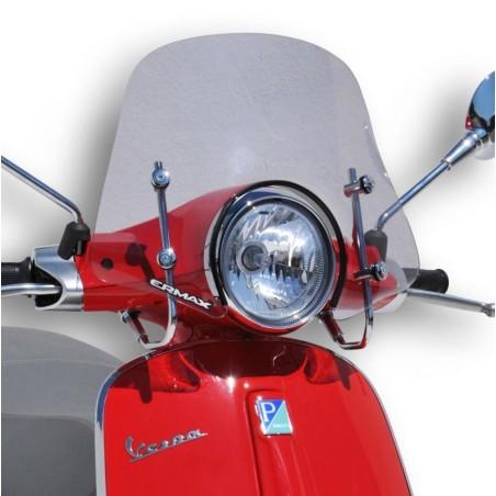 Pare-Brise scooter Ermax Mini Sportivo 40cm pour Vespa 50 et 125 Primavera 2014 et +