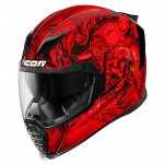 Casque intégral ICON Airflite Krom Rouge
