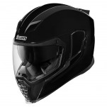 Casque intégral ICON Airflite Gloss Solids Noir