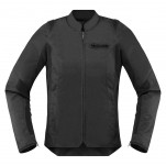 Blouson moto Femme ICON Overlord SB2 Stealth
