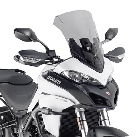 Bulle pare-brise sportive fumée D7406S GIVI pour Ducati Multistrada 1200 2015-2017 et 950 2017