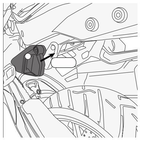 Kit spécifique pour monter le support valises latérales PL7703 CAM sur la KTM 1290 Super Adventure 2015 et +