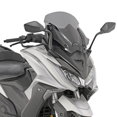 Bulle pare-brise Sport GIVI D6110S fumée pour scooter KYMCO AK 550 2017 et +