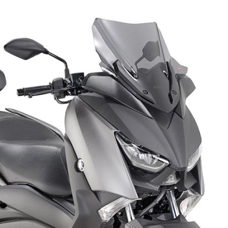 Bulle basse GIVI D2136S Sport incolore pour Yamaha XMAX 300 2017 et +