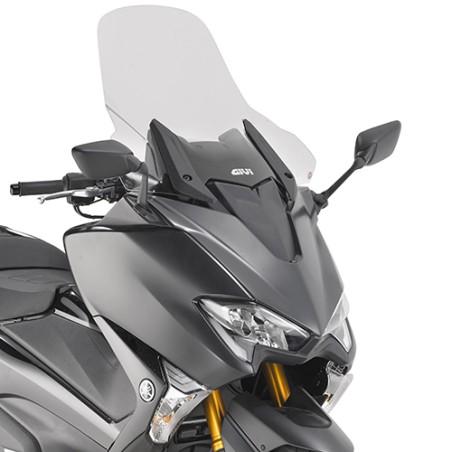 Bulle GIVI D2133ST Haute protection incolore (+12,5cm) pour Yamaha TMAX 530 2017 et +