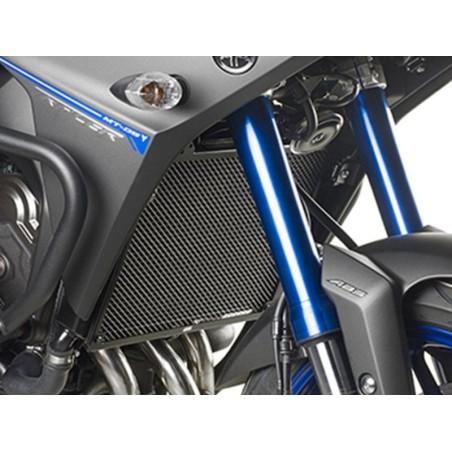Grille de radiateur spécifique PR2132 GIVI en acier inox peinte en noire pour Yamaha MT09 17 et Tracer900 15-17