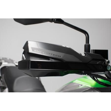 Kit de fixation pour protege-mains Noir. Kawasaki KLE 250/300 Versys-X (16-).