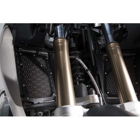 Protection de radiateur Noir. BMW R 1200 GS LC (16-).