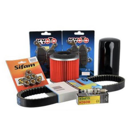 Sifam - Kit Révision NEXUS 125 IE EURO 3 + Huile 5W40 2L 2009-2010