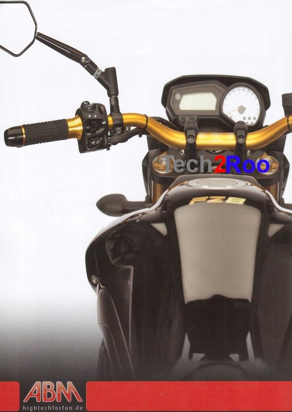 Guidon moto ABM BOOSTER 28,5mm