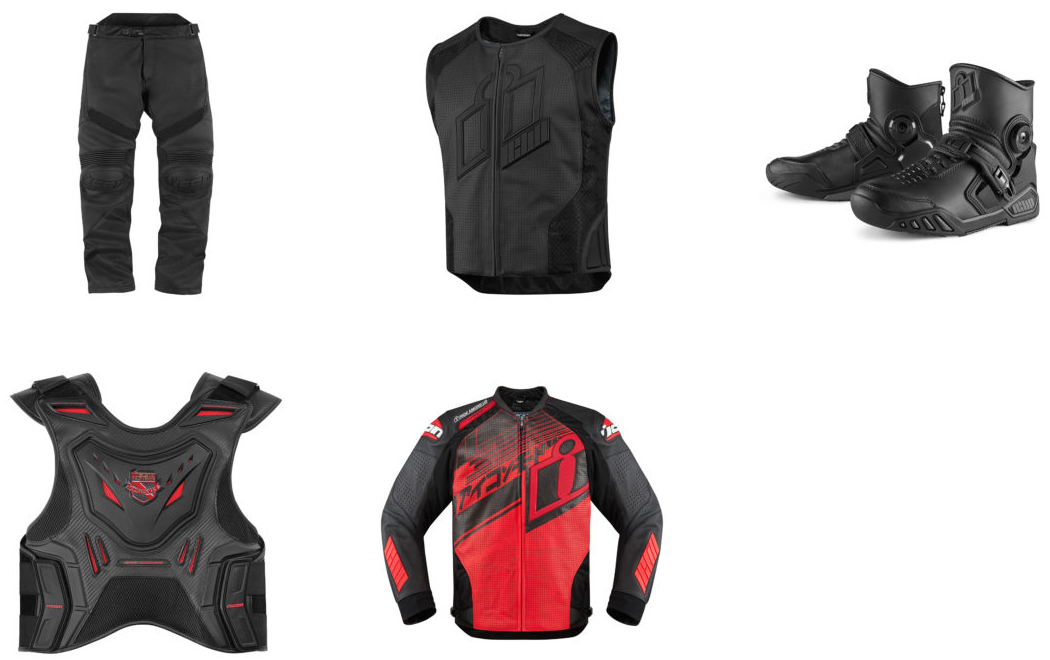 Tenue Hypersport Rouge ICON chez Tech2Roo